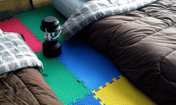 Best camping gear for babies 0 foam floor tiles