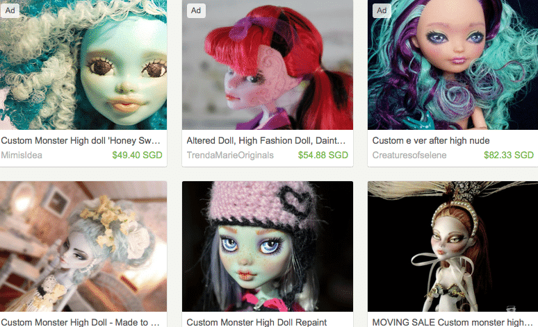 Buy custom monster high dolls online - Etsy