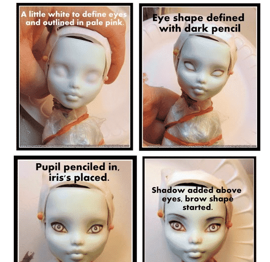 Custom monster high dolls tutorial 1
