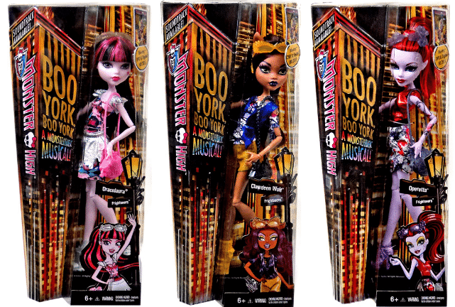 new monster high dolls 2015 - boo york boo york