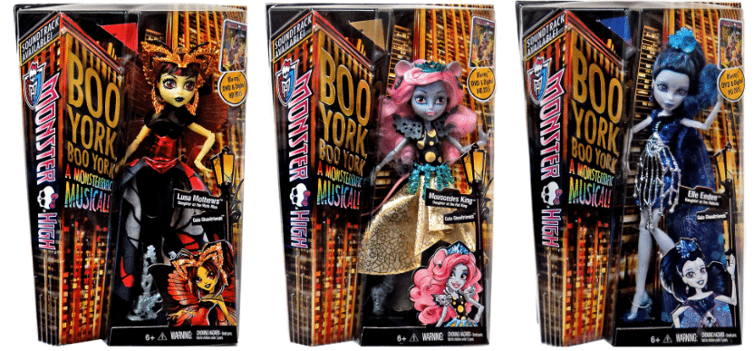 new monster high dolls 2015 - boo york