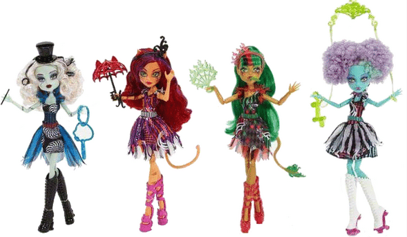 new monster high dolls 2015 - freak du chic monster high