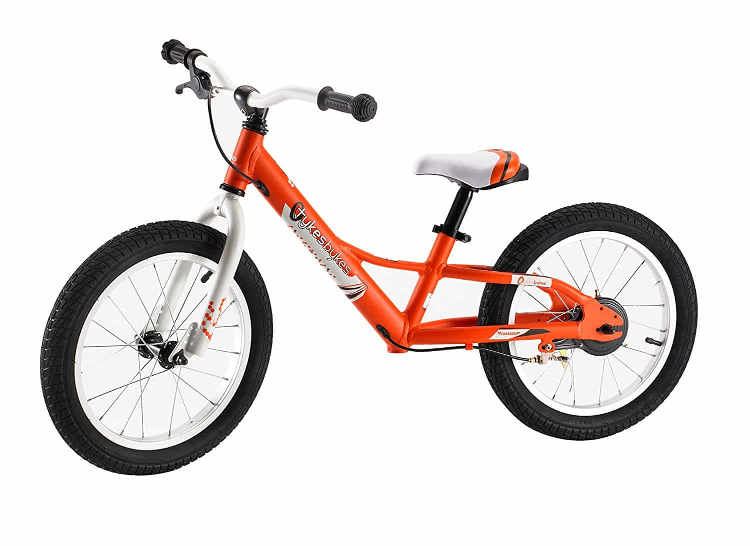 TykesBykes Charger Kids Balance Bike 16 Inch Wheels