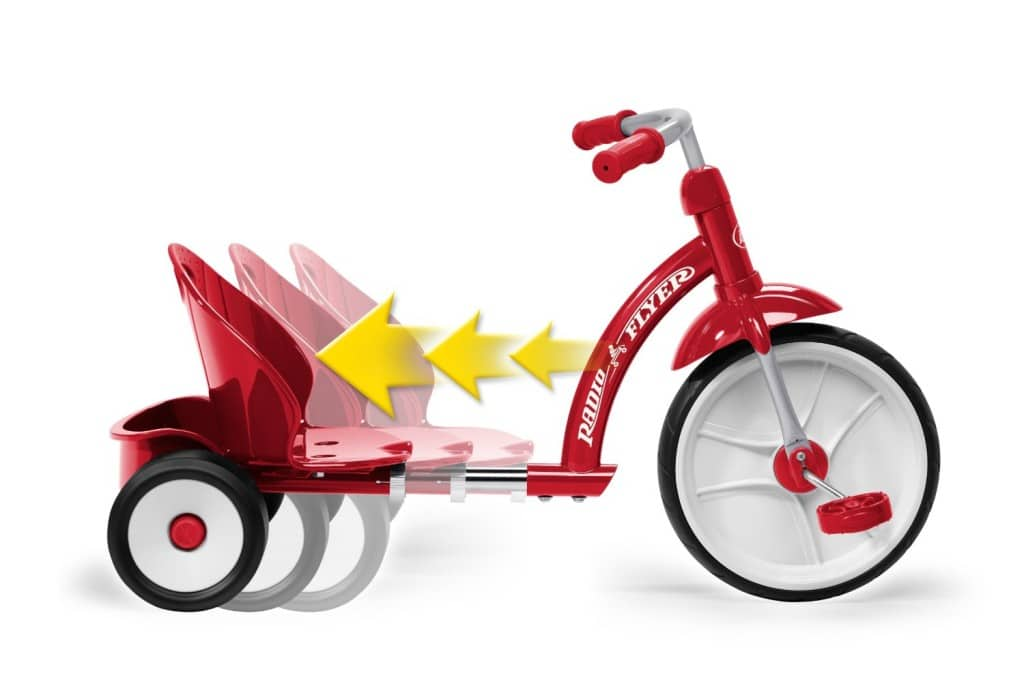 radio flyer big wheel for 2 year old review