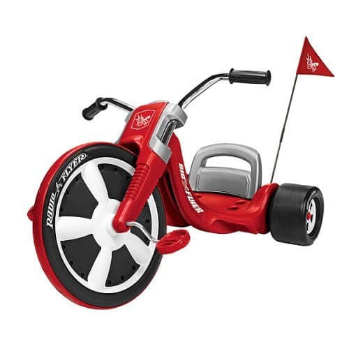 radio flyer big wheel for 3 year old review