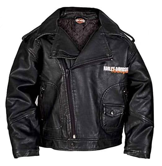 Harley Davidson Eagle Biker Boys Jacket