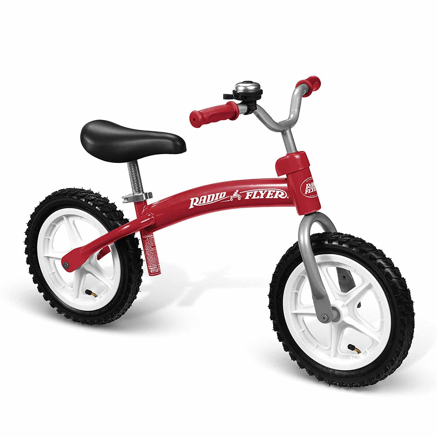 Radio Flyer Balance Bike with 12 Inch Air Tires