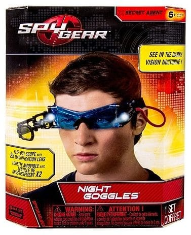 Secret Agent Night Googles - Best Spy Gadgets for Kids