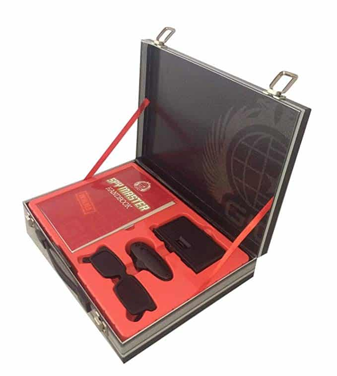 Spy Master Briefcase - Best Spy Gadgets for Kids