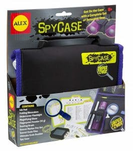 Undercover Spy Case Detective Gear Set - Best Spy Gadgets for Kids