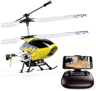 Remote control spy helicopter with camera