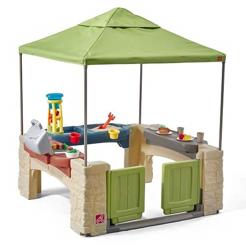 All Around Playtime Patio with Canopy Playhouse - Kids Summer Toy for 2019