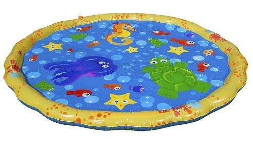 Banzai Play Mat Jr. Sprinkel N Splash - 2019 Summer Toddlers Toy