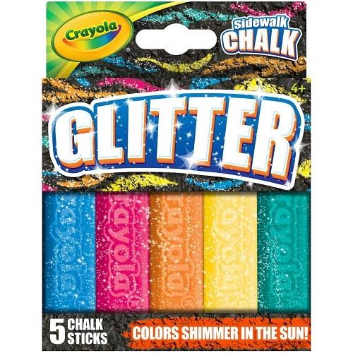 Crayola Outdoor Glitter Sidewalk Chalk - 2019 Summer Toys