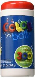 Color My Bath Color Changing Bath Tablets