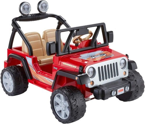 Fisher-Price Power Wheels Jeep Wrangler ride on toy
