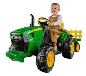 John Deere Ground Force Tractor Toy