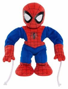 Just Play Marvel Swing & Sling Spiderman Plush