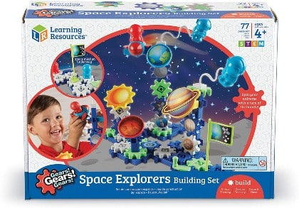 Learning Resources Space Explorers Building Set