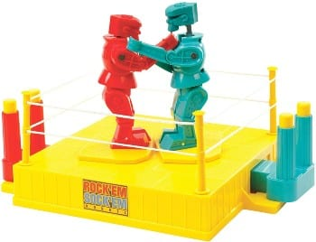 Mattel Rock 'Em Sock 'Em Robots for 6 year old boys