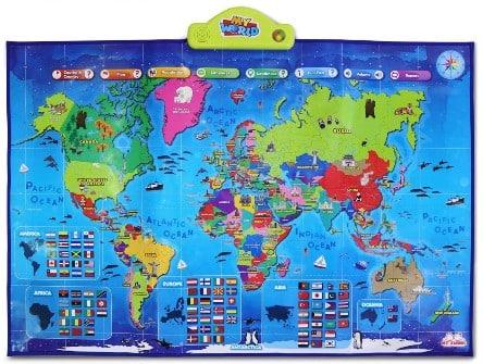 My World Interactive map