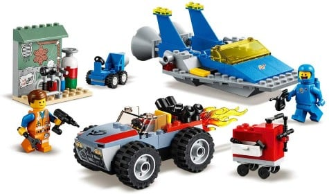 THE LEGO MOVIE 2 Emmet and Benny's 'Build and Fix' Workshop!