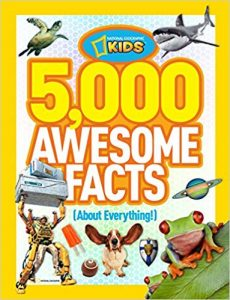 5,000 Awesome Facts About Everything! Nat Geo Kids book