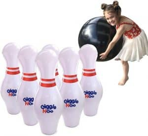 GIGGLE N GO Inflatable Bowling Pins