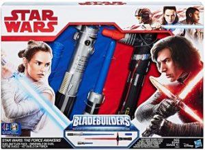 Kylo Ren Rey Star Wars Duel Battler LightSaber Pack