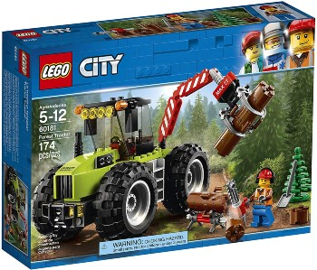 LEGO City Forest Tractor set for boys