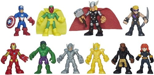 Playskool Heroes Marvel Super Hero Adventures Ultimate Super Hero Set for 4 year old boys