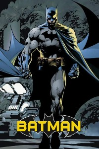 The Dark Knight Walking at Night Batman poster