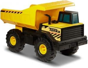 Tonka Classic Steel Mighty Dump Truck for 2 - 4 year old boys