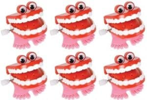 Wind Up Chatter Teeth with Eyes