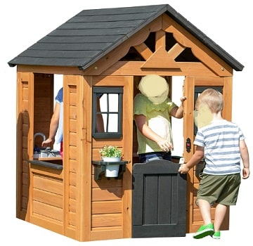 Cedar Wooden Playhouse
