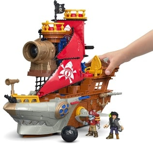Fisher-Price Shark Bait Pirate Ship