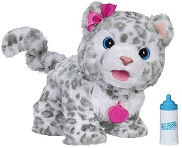 FurReal Flurry, My Baby Snow Leopard Interactive Plush Toy