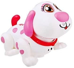 Interactive electronic talking puppy