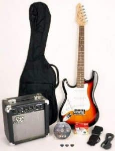 Left-Handed Beginner Electric Guitar Package