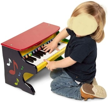 Melissa & Doug Learn-To-Play Toddler Piano