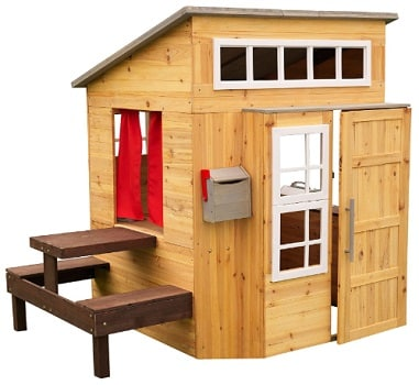 Modern Outdoor Wooden Playhouse