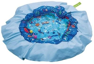 Waterproof beach blanket and kids pool