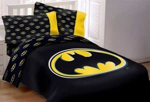 Batman Emblem Reversible Bed Set
