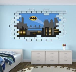 Batman Gotham City Wall Decal