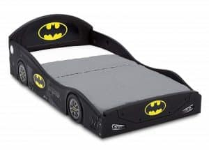DC Comics Batman Batmobile Car Sleep and Play Toddler Bed