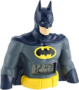 DC Comics Digital Display Batman LCD Alarm Clock