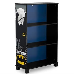 Delta Children's Delux 3 Shelf Book Case, DC Comics Batman