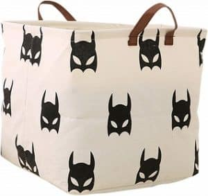 Langyashan Square Canvas Batman Storage Bin