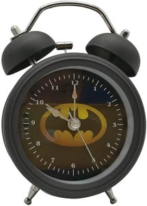 Wolf Warrior Analog Alarm Clock-Batman