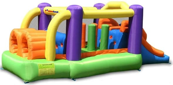 Bounceland Inflatable Bouncer Obstacle